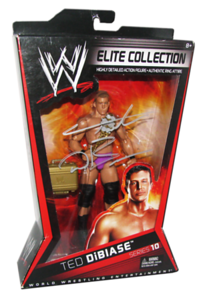 Ted Dibiase Autographed Mattel WWE ELITE COLLECTION Series 10 Figure