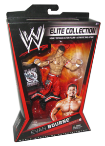 Evan Bourne Autographed Mattel WWE ELITE COLLECTION Series 8 Figure