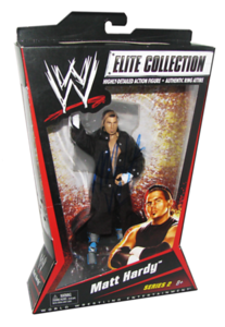 Matt Hardy Autographed Mattel WWE ELITE COLLECTION Series 2 Figures