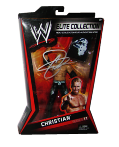 Christian Autographed Mattel WWE ELITE COLLECTION Series 11 Figure