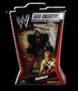 Goldust Autographed Mattel WWE ELITE COLLECTION Series 6 Figure