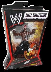 JTG Autographed Mattel WWE ELITE COLLECTION Series 6 Figure