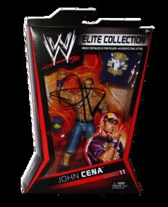 John Cena Autographed Mattel WWE ELITE COLLECTION Series 11 Figure