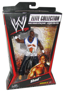 Shad Autographed Mattel WWE ELITE COLLECTION Series 6 Figure