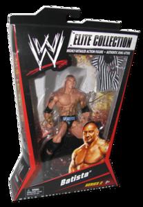 Batista Autographed Mattel WWE ELITE COLLECTION Series 2 Figure