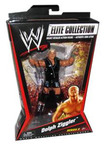 Dolph Ziggler Autographed Mattel WWE ELITE COLLECTION Series 5 Figure