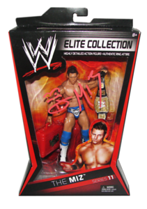 The Miz Autographed Mattel WWE ELITE COLLECTION Series 11 Figure