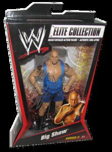 Big Show Autographed Mattel WWE ELITE COLLECTION Series 4 Figure