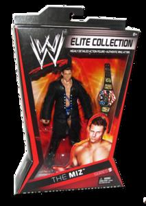 The Miz Autographed Mattel WWE ELITE COLLECTION Series 9 Figure