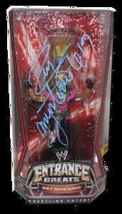 Rey Mysterio Autographed Mattel WWE Entrance Greats Series 1 Figure