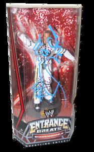 Shawn Michaels Autographed Mattel WWE Entrance Greats Series 1 Figure