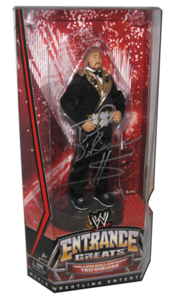 Ted Dibiase Autographed Mattel WWE Entrance Greats Series 2 Figure