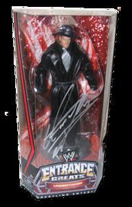 Undertaker Autographed Mattel WWE Entrance Greats Series 3 Figure
