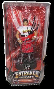 """Rowdy"" Roddy Piper Autographed Mattel WWE Entrance Greats Series 2 Figure"