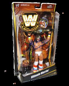 Ultimate Warrior Autographed Mattel WWE LEGENDS Series 4 Figure