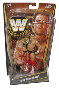 Tully Blanchard Autographed Mattel WWE LEGENDS Exclusive Figure