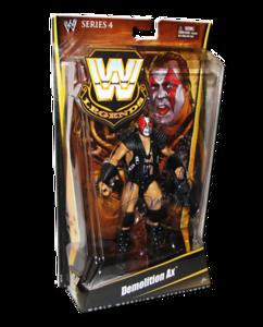 Demolition Ax Autographed Mattel WWE LEGENDS Series 4 Figure