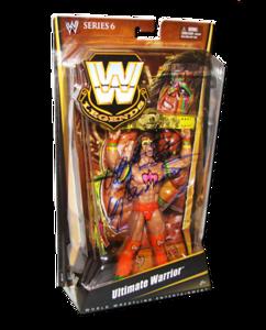 Ultimate Warrior Autographed Mattel WWE LEGENDS Series 6 Figure