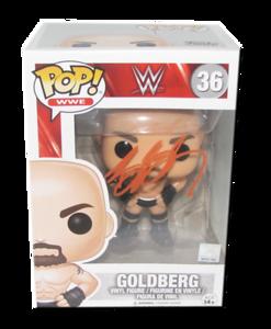 Goldberg Autographed WWE POP! Funko Vinyl Figure