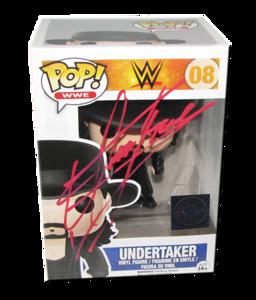 Undertaker Autographed WWE Pop! Funko Vinyl Figure