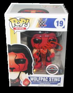 Sting Autographed WWE POP! Funko Gamestop Exclusive Vinyl Figure
