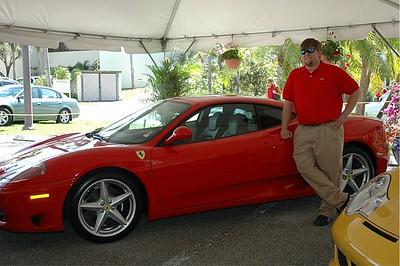 Jonathan and Ferrari.