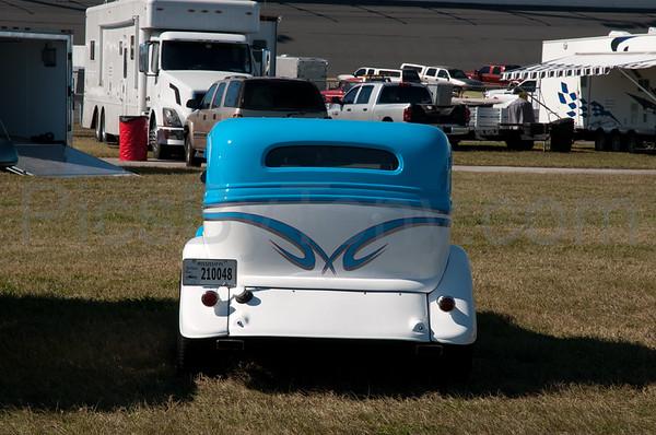 39th Annual Daytona Turkey Run Car Show at  Daytona, Daytona International Speedway, FL on Nov. 23, 2012