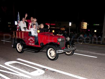 53rd Annual Gaslight Parade in Ormond Beach, FL on Nov. 26, 2010