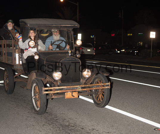 60th Annual Gaslight Parade in Ormond Beach, FL on Nov. 24, 2017