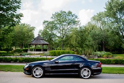 Glenview IL // Automobile // Mercedes SL55