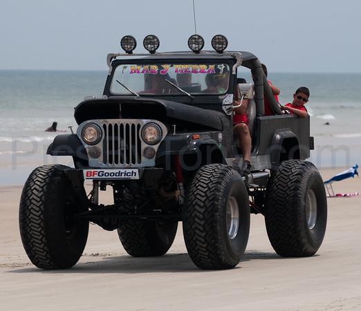Jeep Beach Parade on Daytona Beach, FL on Apr. 26th, 2015
