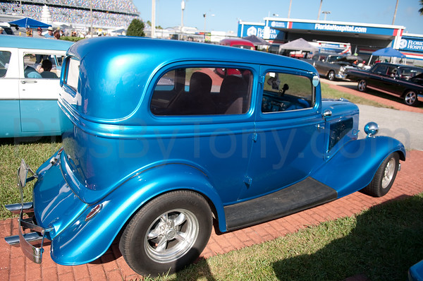 42nd Annual Daytona Turkey Run Car Show at Daytona International Speedway on Nov. 27, 2015