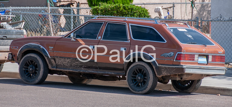 AMC Eagle 4-Door Station Wagon