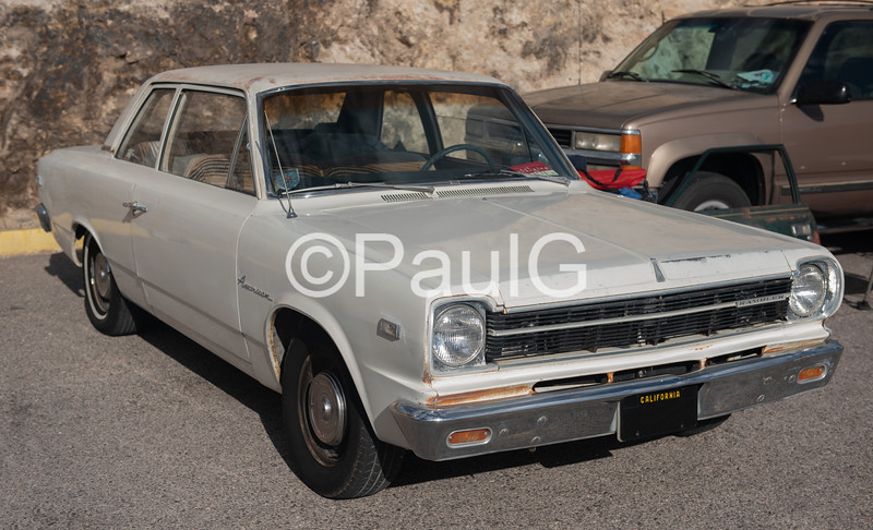 1967 AMC Rambler American 2-Door Sedan