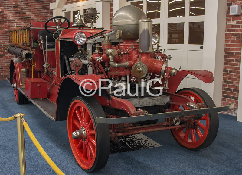 1923 Ahrens-Fox NS-4 Fire Truck