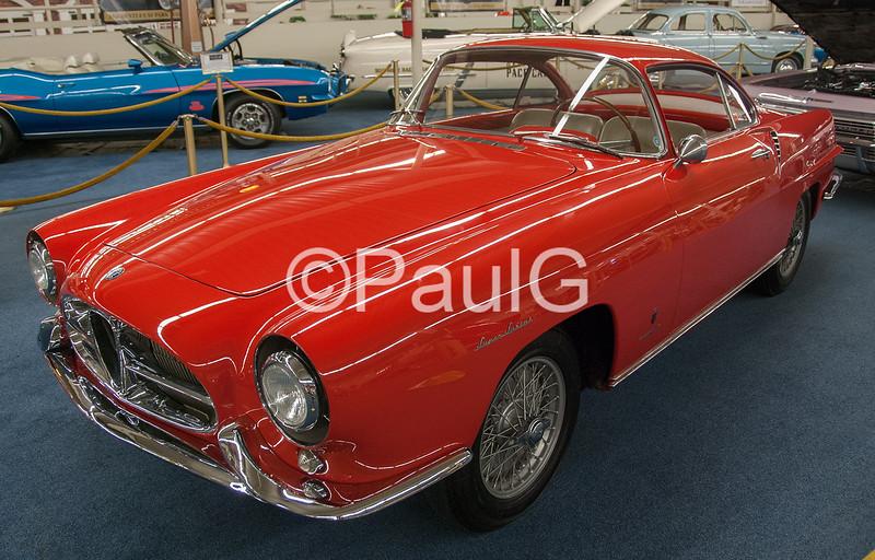 1954 Alfa Romeo 1900 SS Ghia Coupe