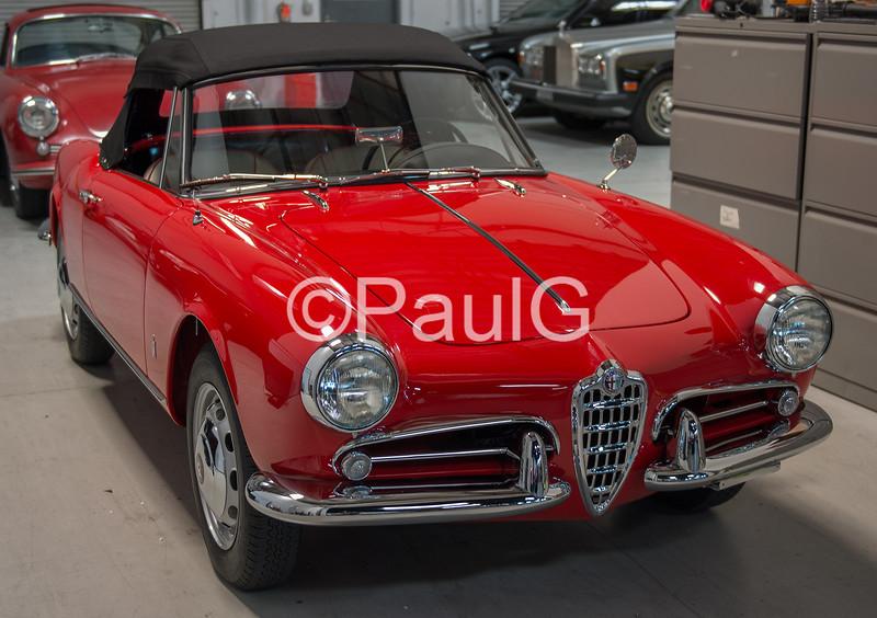 1960 Alfa Romeo Giulietta Spider Veloce