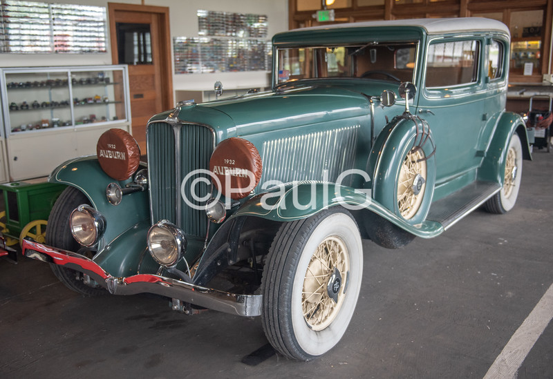 1932 Auburn Model 12-160A 2-Door Brougham