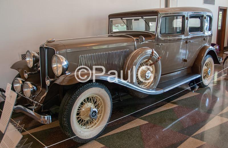 1932 Auburn Model 12-160A 4-Door Sedan