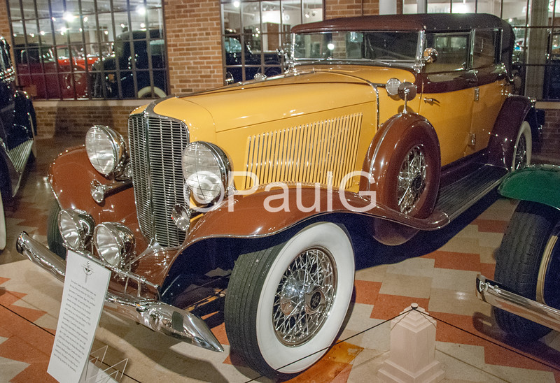 1933 Auburn Model 12-165 4-Door Phaeton Sedan