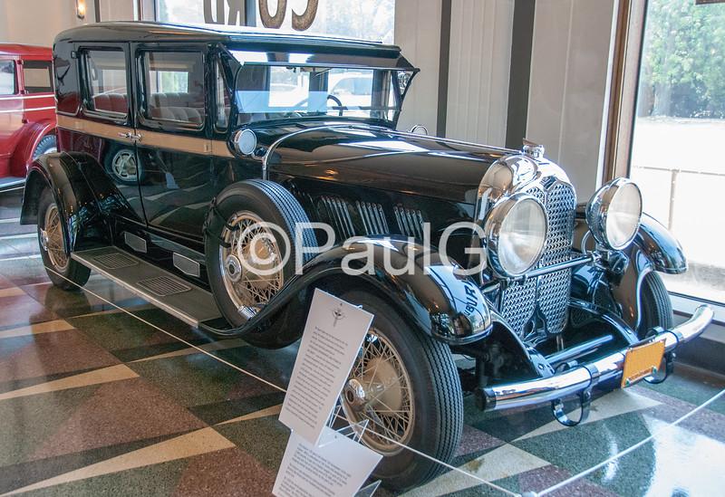 1930 Auburn Model 125 4-Door Sport Sedan