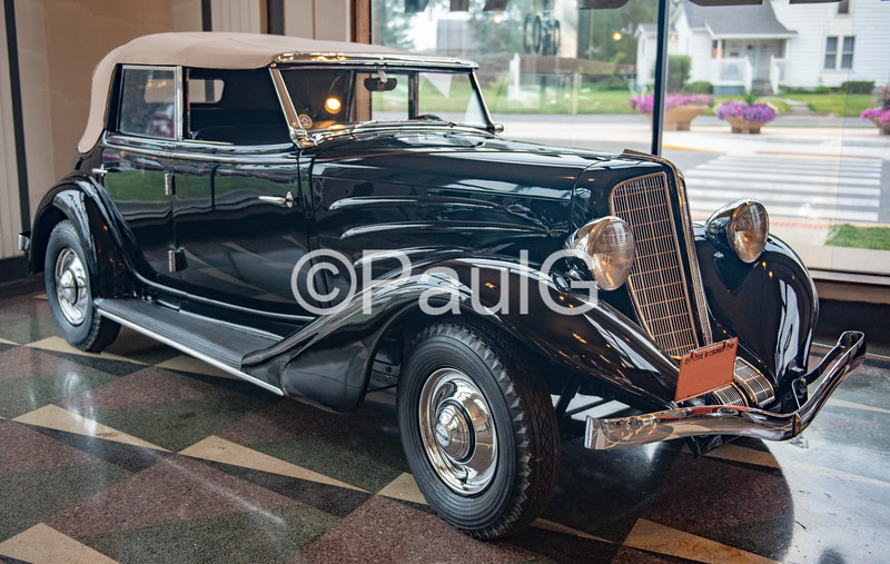 1934 Auburn Model 652Y 4-Door Phaeton Sedan