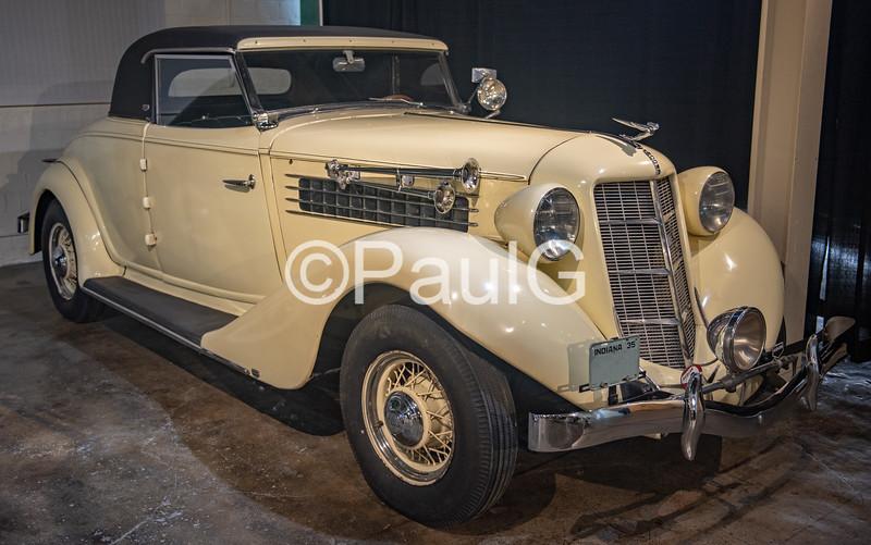 1935 Auburn Model 653 Standard 2-Door Coupe