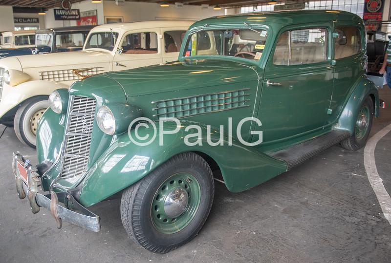 1936 Auburn Model 654 2-Door Brougham