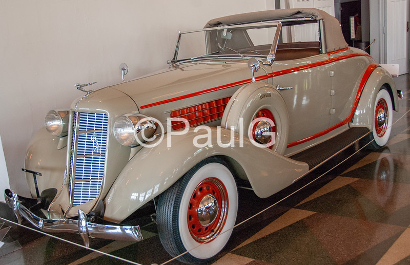1936 Auburn Model 654 Standard 2-Door Cabriolet