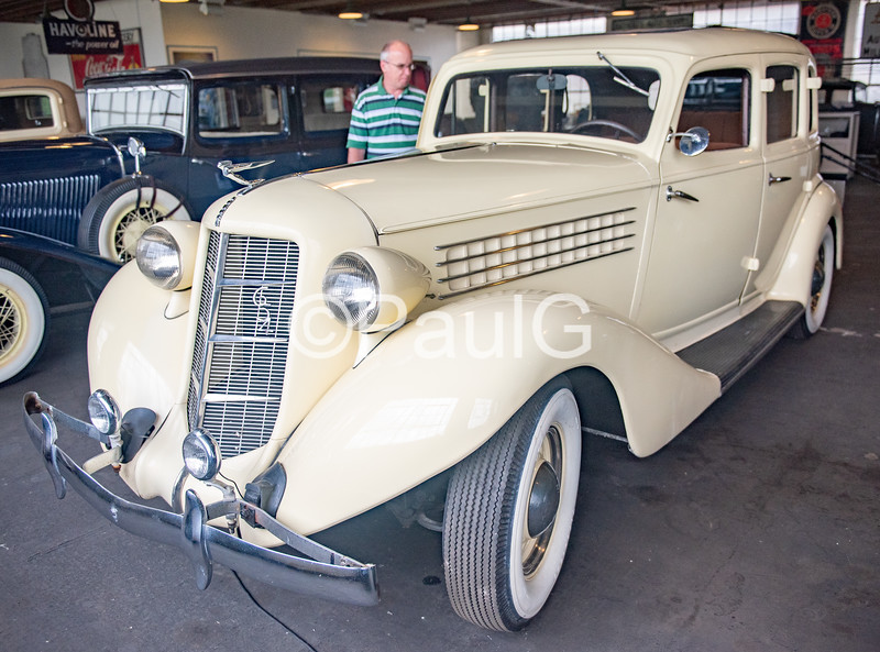 1936 Auburn Model 654 4-Door Sedan