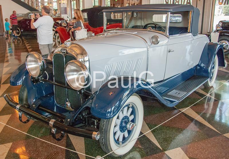 1930 Auburn Model 6-85 2-Door Cabriolet