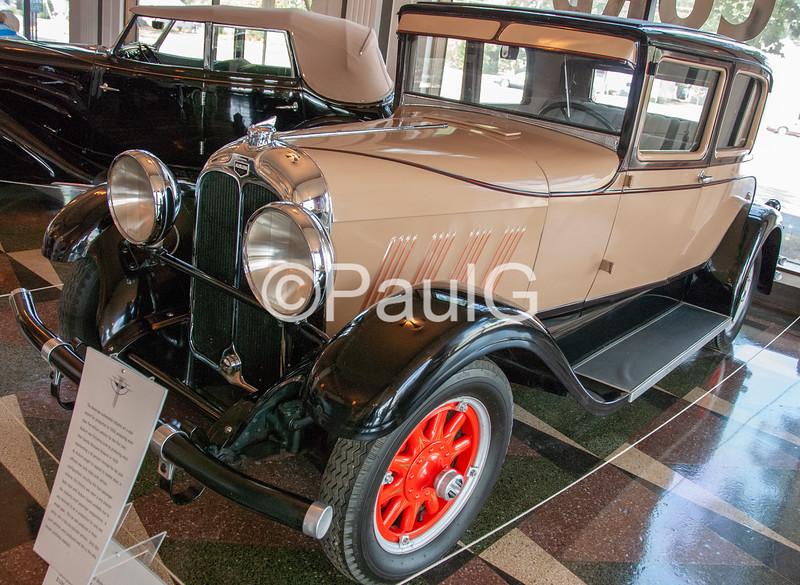 1929 Auburn Model 76 2-Door Victoria