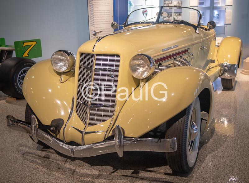 1935 Auburn Model 851 2-Door Supercharged Speedster