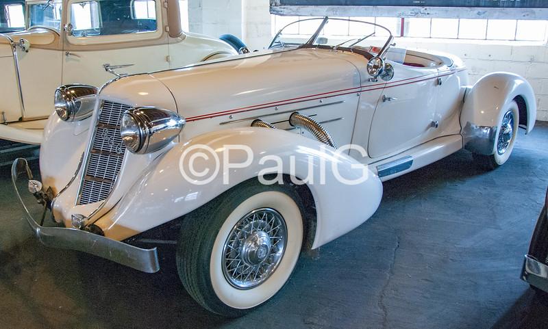 1935 Auburn Model 851 2-Door Supercharged Speedster Recreation